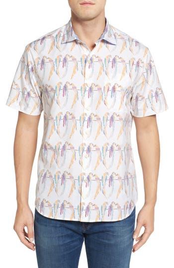 Men's Tommy Bahama Meet The Parrots Standard Fit Sport Shirt