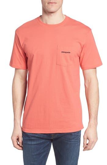 Patagonia P-6 Logo Graphic T-Shirt, Pink