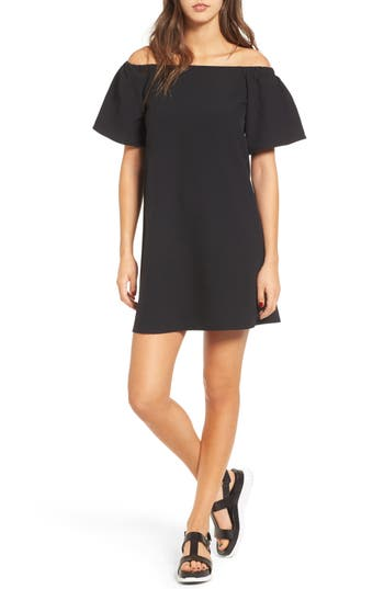 Bp. Off The Shoulder Shift Dress