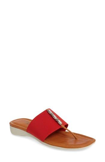 Women's The Flexx Rain Maker Sandal, Size 5.5 M - Red