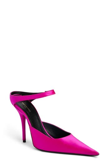 Balenciaga Pointy Toe Pump, Pink