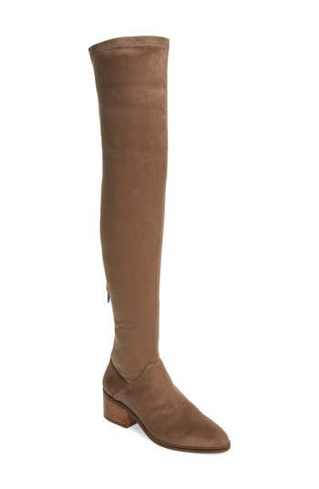 Steve Madden Gabbie Thigh High Boot, Brown