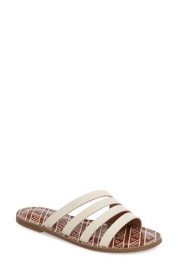 Lucky Brand Anika Slide Sandal- White