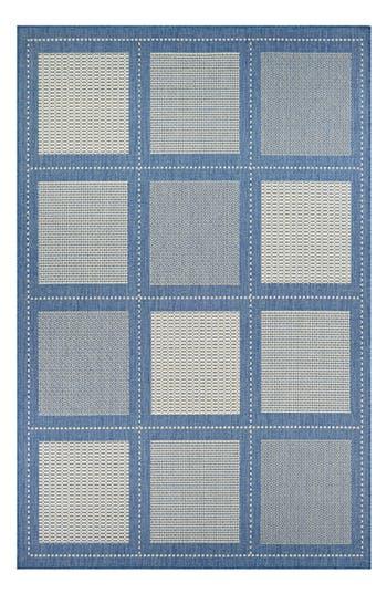 Couristan Reeife Summit Indoor/outdoor Rug, ft 0in x 3ft 7in - Blue