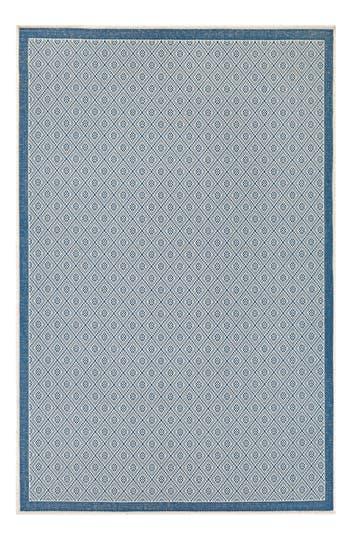 Couristan Sea Pier Indoor/outdoor Rug, ft 0in x 3ft 7in - Blue