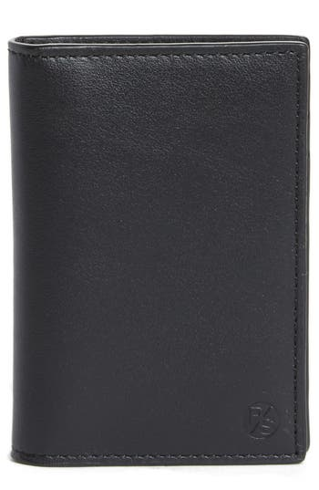 Paul Smith Color Accent Leather Wallet - Black