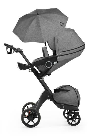 Infant Stokke Xplory True Black Stroller