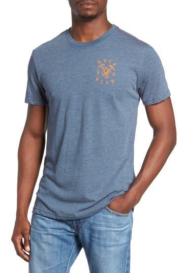 Rvca Climbing Pick Graphic T-Shirt