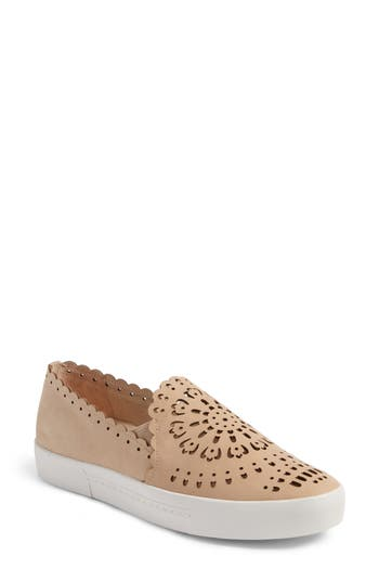 Joie Diya Slip-On Sneaker, White