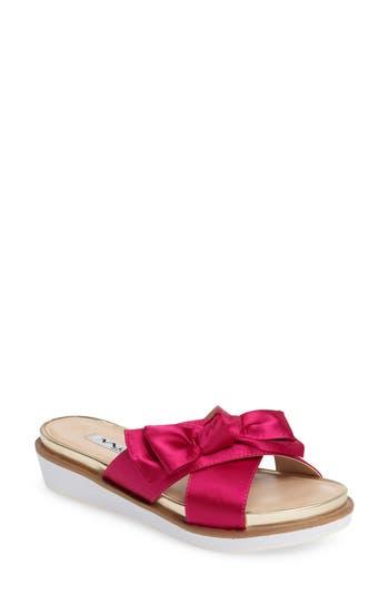 Nina Garda Bow Slide, Pink