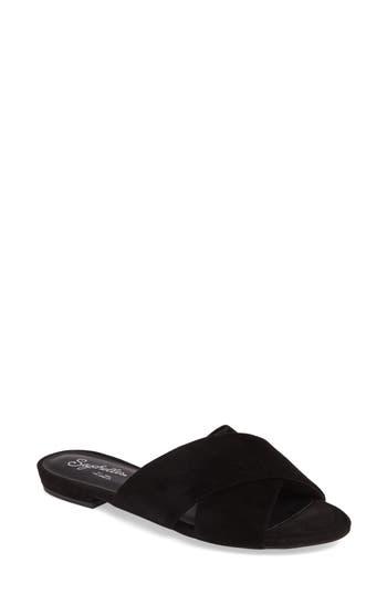 Seychelles Continental Slide Sandal, Black