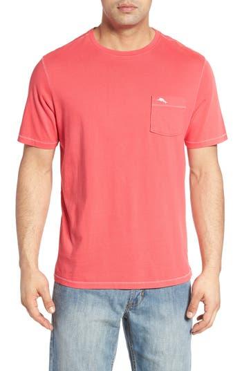 Men's Tommy Bahama 'New Bahama Reef' Island Modern Fit Pima Cotton Pocket T-Shirt