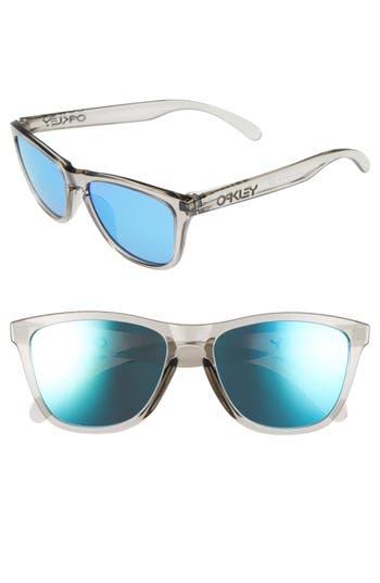 Oakley Frogskins 5m Sunglasses - Grey Ink/ Sapphire Iridium