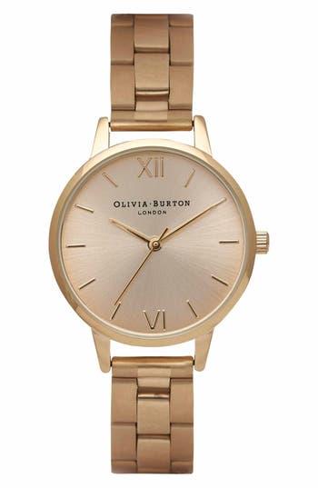 Women's Olivia Burton Midi Dial Bracelet Watch, 30Mm