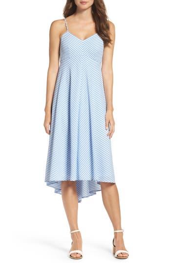 Taylor Dresses Stripe Midi Dress