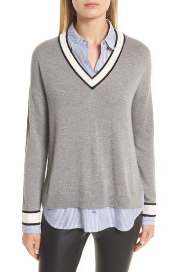 Women's Joie Belva Layered Look Sweater