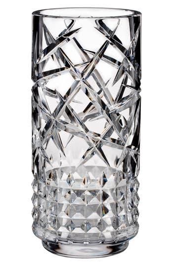 Waterford Fleurology Jeff Leatham Tina Lead Crystal Vase, White