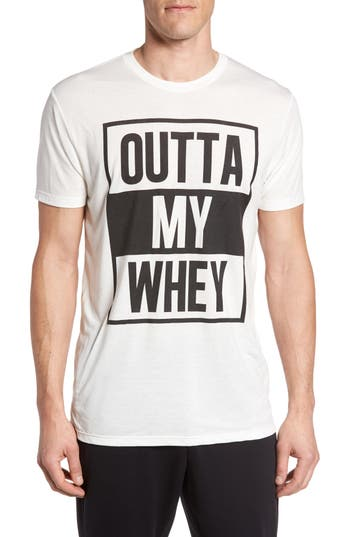 Zella Outta My Whey Graphic T-Shirt, White