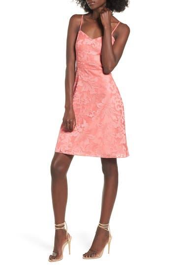 Women's Devlin Linda Shift Dress, Size X-Small - Pink