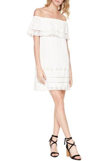 Sanctuary Lacey Drape Bodice Off The Shoulder Dress