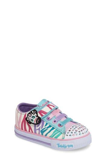 Toddler Girl's Skechers Shuffles - Party Pets Sneaker