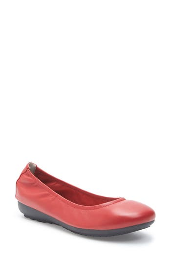 Me Too Janell Sliver Wedge Flat- Red
