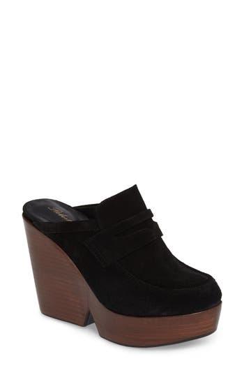 Robert Clergerie Damor Platform Loafer Mule - Black