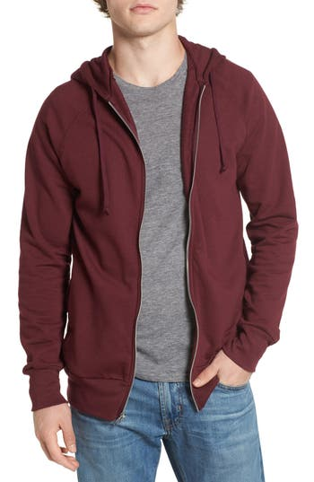 Alternative Franchise French Terry Hoodie, Burgundy