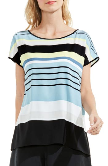 Women's Vince Camuto Stripe Harmony Blouse