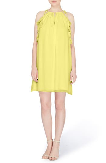 Catherine Catherine Malandrino Natalie Tie Shoulder Shift Dress