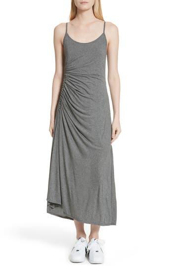 A.l.c. Delia Ruched Midi Dress, Grey