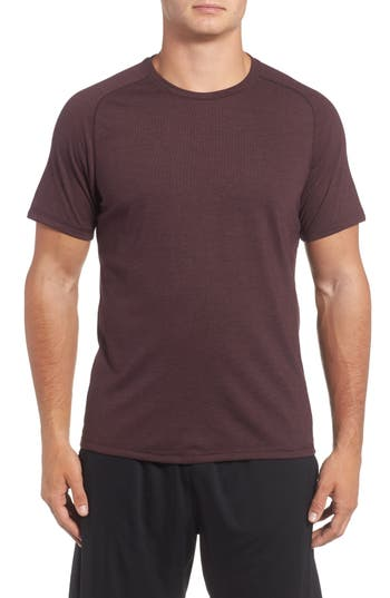 Zella Celsian Training T-Shirt, Burgundy