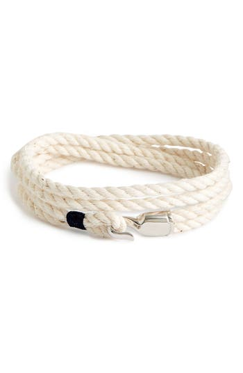 Men's Miansai 'Trice' Wrap Rope Bracelet