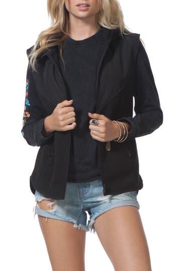 Rip Curl Bleaker Anti Series Hooded Vest, Black