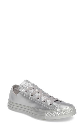 Converse Chuck Taylor All Star Ox Liquid Sneaker- Metallic