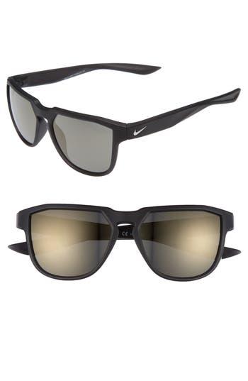 Nike Fly Swift 57Mm Sunglasses - Matte Seaweed/ Gunmetal