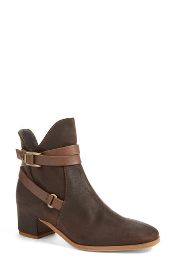 Alberto Fermani Fiora Bootie- Brown