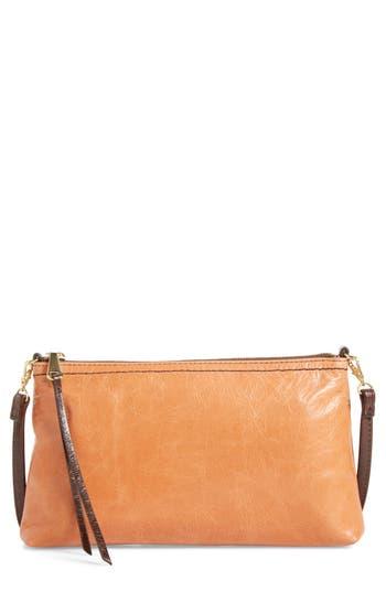 Hobo 'Darcy' Leather Crossbody Bag - Orange