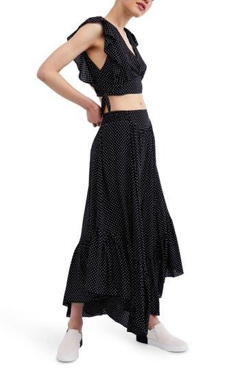 Free People Pretty Daze Two-Piece Dress, Black