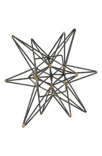 Crystal Art Gallery Metal Star Tabletop Decoration
