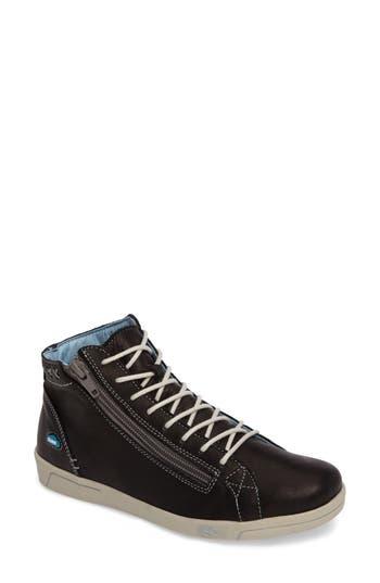 Cloud Aika Zip Sneaker - Black