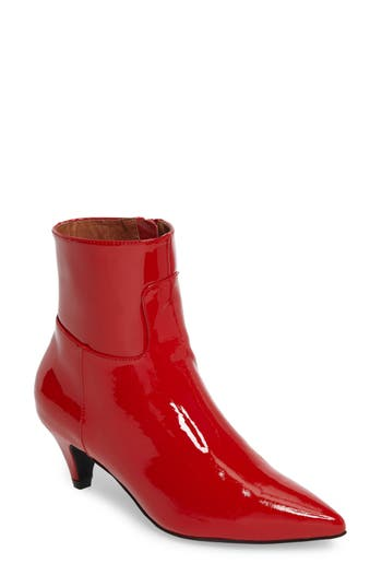Jeffrey Campbell Muse Bootie- Red