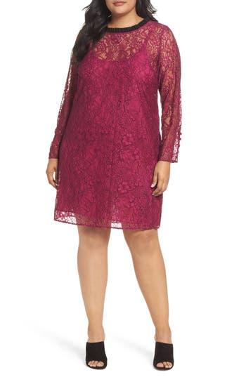 Plus Size Women's Rebel Wilson X Angels Lace A-Line Dress