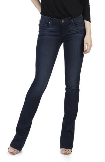 Paige Transcend - Manhattan Bootcut Jeans, Blue