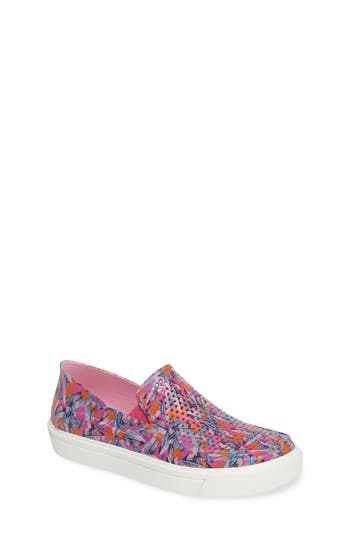 Boy's Crocs(TM) Citilane Roka Graphic Slip-On Sneaker, Size 13 M - Pink