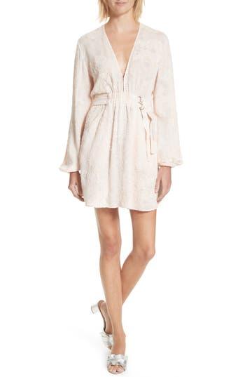 A.l.c. Jezebel Fil Coupe Dress, Pink
