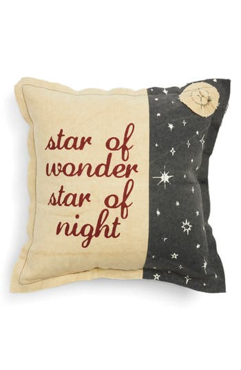 Primitives By Kathy Star Of Night Accent Pillow, Size One Size - Blue
