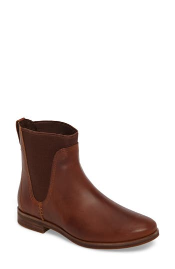 Women's Timberland Somers Falls Water Resistant Chelsea Boot, Size 6 M - Brown