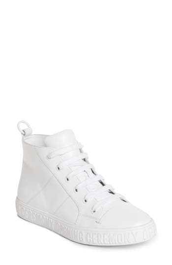 Opening Ceremony Ericca High-Top Sneaker, White