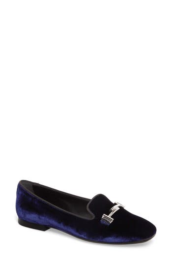 Tods Double T Loafer - Blue